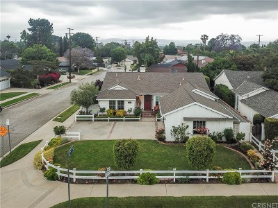 Northridge Single Family Home For Sale: 18200 Osborne Street