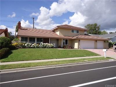 Thousand Oaks Single Family Home For Sale: 131 West Avenida De Las Flores
