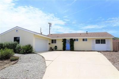 Simi Valley Single Family Home For Sale: 1830 Hamilton Avenue
