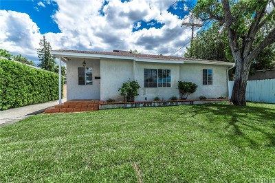 Sherman Oaks Single Family Home Active Under Contract: 5314 Willis Avenue