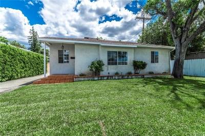Sherman Oaks Single Family Home For Sale: 5314 Willis Avenue