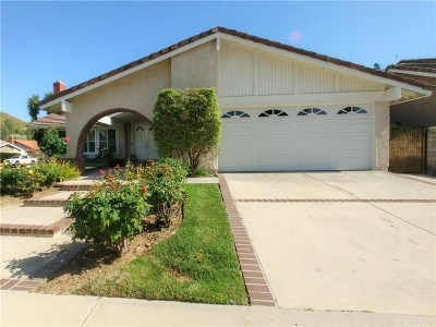 Agoura Hills Single Family Home Active Under Contract: 28902 Canmore Street