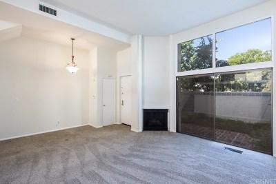 Woodland Hills Condo/Townhouse For Sale: 6243 Randi Avenue
