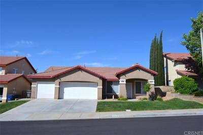 Palmdale Single Family Home For Sale: 3943 Vitrina Lane