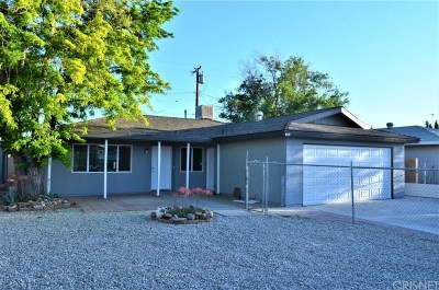 Rosamond Single Family Home For Sale: 1554 Richfield Avenue