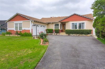 Granada Hills Single Family Home For Sale: 10343 Petit Avenue