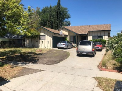 Mission Hills San Fernando Single Family Home For Sale: 14367 Germain Street