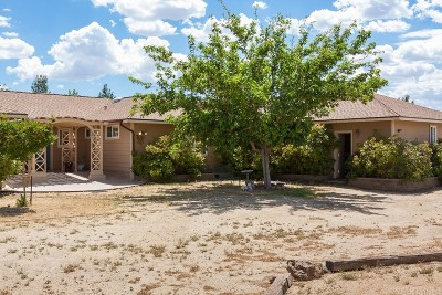Rosamond Single Family Home For Sale: 3400 Dacite Avenue