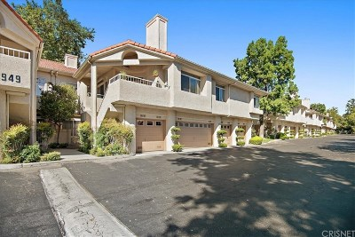 Stevenson Ranch Condo/Townhouse For Sale: 25949 Stafford Canyon Road #G