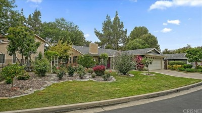 West Hills Single Family Home For Sale: 8385 Samra Drive