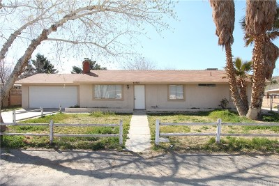 Palmdale Single Family Home For Sale: 39313 168th Street East