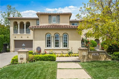 Calabasas Single Family Home For Sale: 26967 Alsace Drive