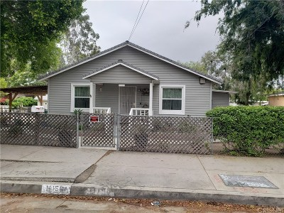 Sun Valley Single Family Home For Sale: 11150 Strathern Street