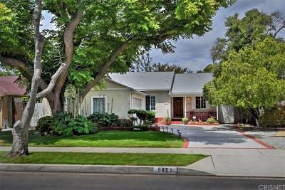 Sherman Oaks Single Family Home For Sale: 5825 Lemona Avenue