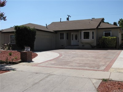 Reseda Single Family Home Active Under Contract: 6509 Baird Avenue