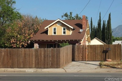 Sylmar Single Family Home For Sale: 13301 Hubbard Street