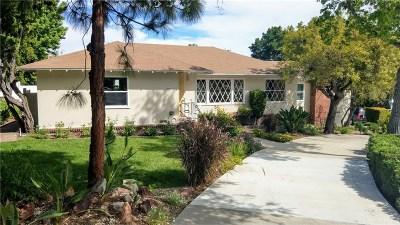 La Crescenta Single Family Home For Sale: 4240 Lowell Avenue