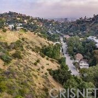 Hollywood Hills Residential Lots & Land For Sale: 2700 Canyon Drive