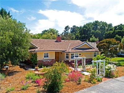Newhall Single Family Home Active Under Contract: 23410 Happy Valley Drive