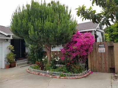 Los Angeles CA Single Family Home For Sale: $1,424,900