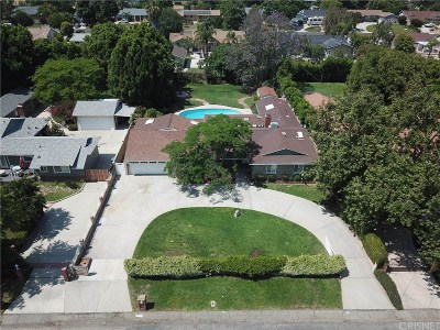 Granada Hills Single Family Home Active Under Contract: 17429 Lahey Street