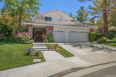 Canyon Country Single Family Home Active Under Contract: 14355 Pinnacle Court