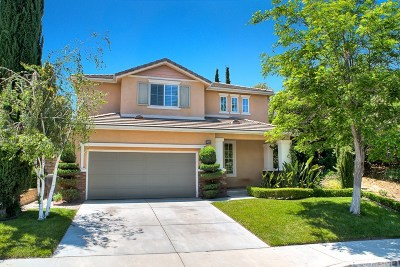 Saugus Single Family Home For Sale: 19988 Via Joyce Drive