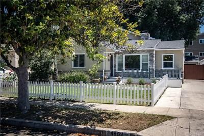 Sherman Oaks Single Family Home For Sale: 4852 Stansbury Avenue