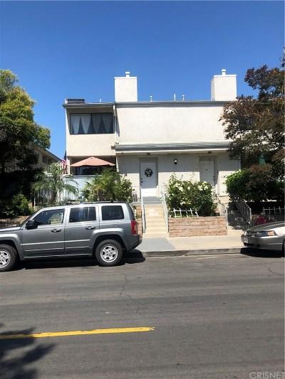 Panorama City Condo/Townhouse For Sale: 7869 Ventura Canyon Avenue #106