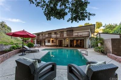 Encino Single Family Home For Sale: 3415 Green Vista Drive