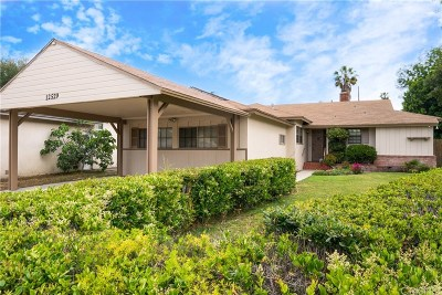 North Hollywood Single Family Home Active Under Contract: 12529 Hart Street