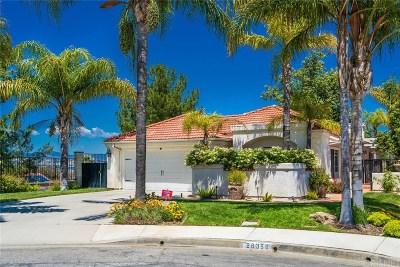 Los Angeles County Single Family Home For Sale: 26356 Ivrea Place