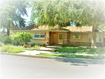 Granada Hills Single Family Home For Sale: 16852 Los Alimos