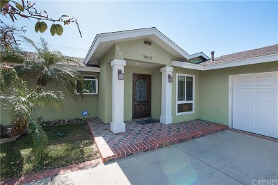 West Hills Single Family Home For Sale: 7917 Maynard Avenue