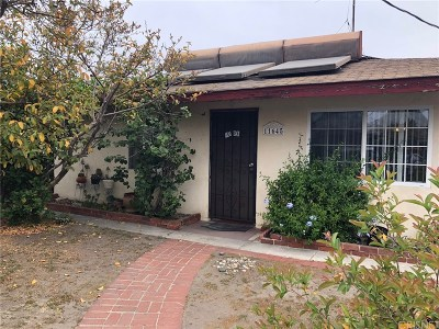 North Hollywood Single Family Home Active Under Contract: 11645 Arminta Street