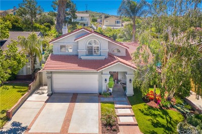 Saugus Single Family Home Active Under Contract: 28716 Seco Canyon Road