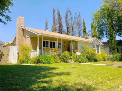 Granada Hills Single Family Home Active Under Contract: 15911 San Fernando Mission Boulevard