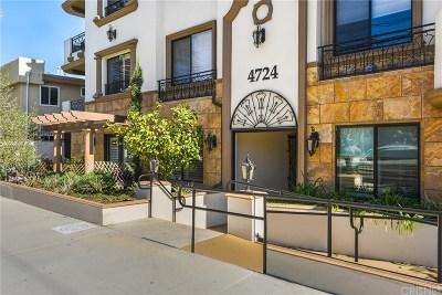 Sherman Oaks Condo/Townhouse For Sale: 4724 Kester Avenue #302