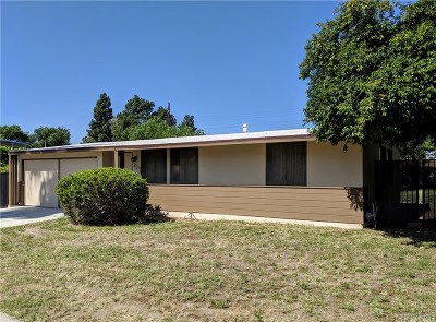 Panorama City Single Family Home Active Under Contract: 8717 Costello Avenue