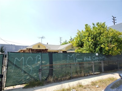 North Hollywood Residential Lots & Land For Sale: 6743 Irvine Avenue
