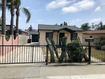 Inglewood Single Family Home Active Under Contract: 538 East Hillsdale Street
