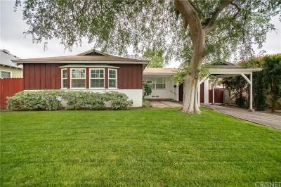 Mission Hills San Fernando Single Family Home Active Under Contract: 10908 Burnet Avenue