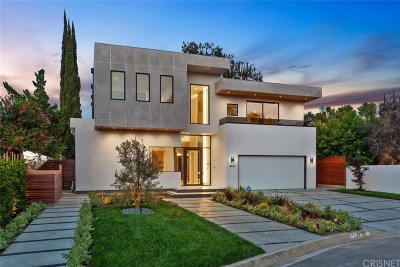 Toluca Lake Single Family Home For Sale: 4830 Biloxi Avenue