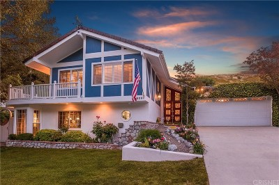 Newhall Single Family Home For Sale: 25237 Running Horse Road