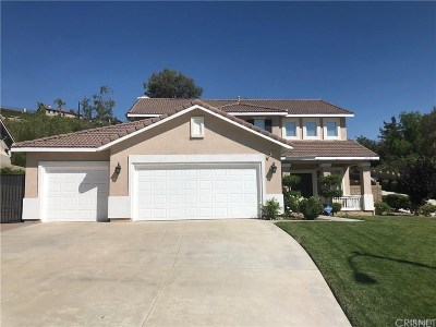 Canyon Country Single Family Home Active Under Contract: 29536 Mammoth Lane