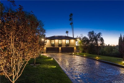 Encino Single Family Home For Sale: 4531 Noeline Way
