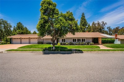 Thousand Oaks Single Family Home For Sale: 1911 Campbell Avenue