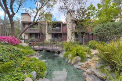 Woodland Hills Condo/Townhouse For Sale: 21931 Burbank Boulevard #27