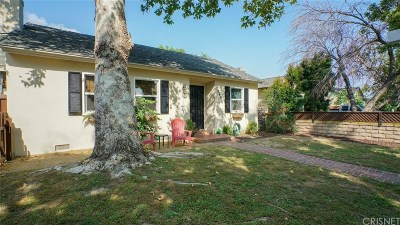 Burbank Single Family Home For Sale: 1044 North Valley Street