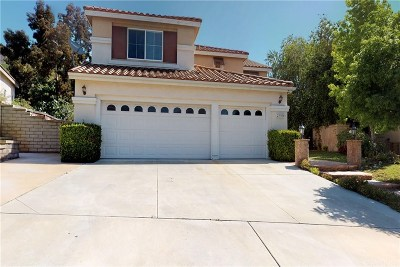Los Angeles County Single Family Home Active Under Contract: 23706 Oak Circle